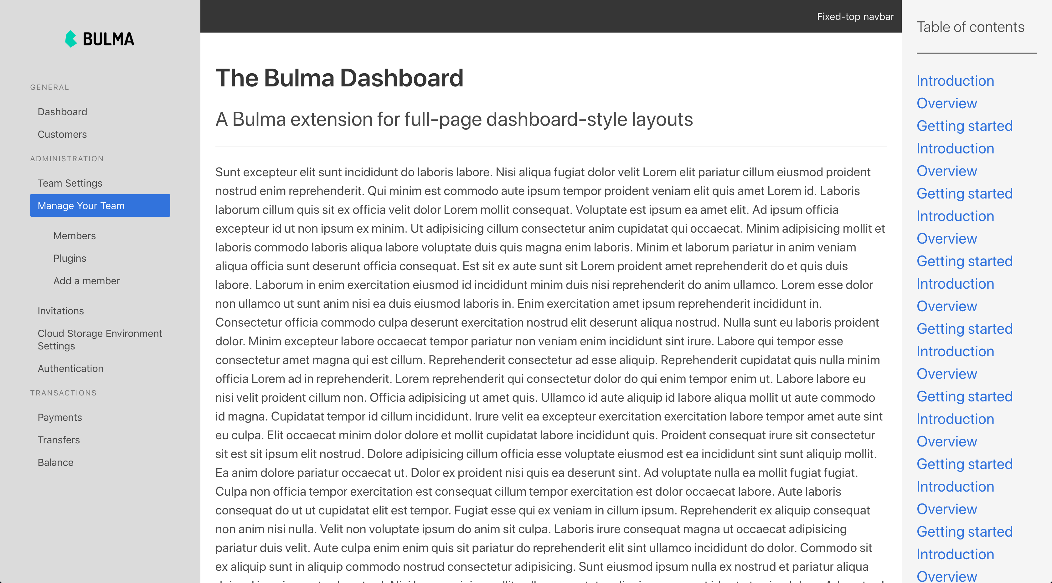 Extensions | Bulma: Free, open source, & modern CSS framework based